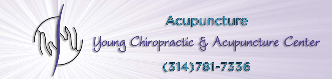Acupuncture at Chiropractic Visit at Young Chiropractic & Acupunture Center
