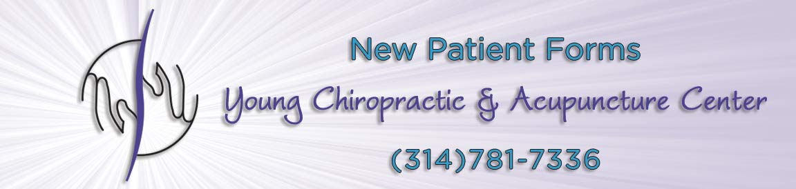 New Patient Forms at Young Chiropractic & Acupunture Center