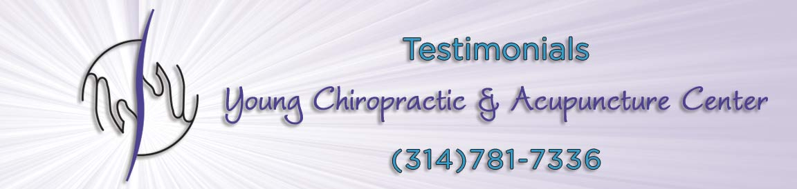 What our clients are saying about Young Chiropractic & Acupunture Center